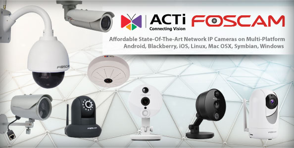 Network IP Cameras - ACE Peripherals ::: Completing I T