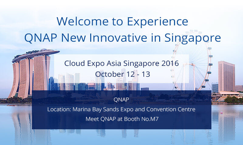 QNAP Cloud Expo Asia 2016