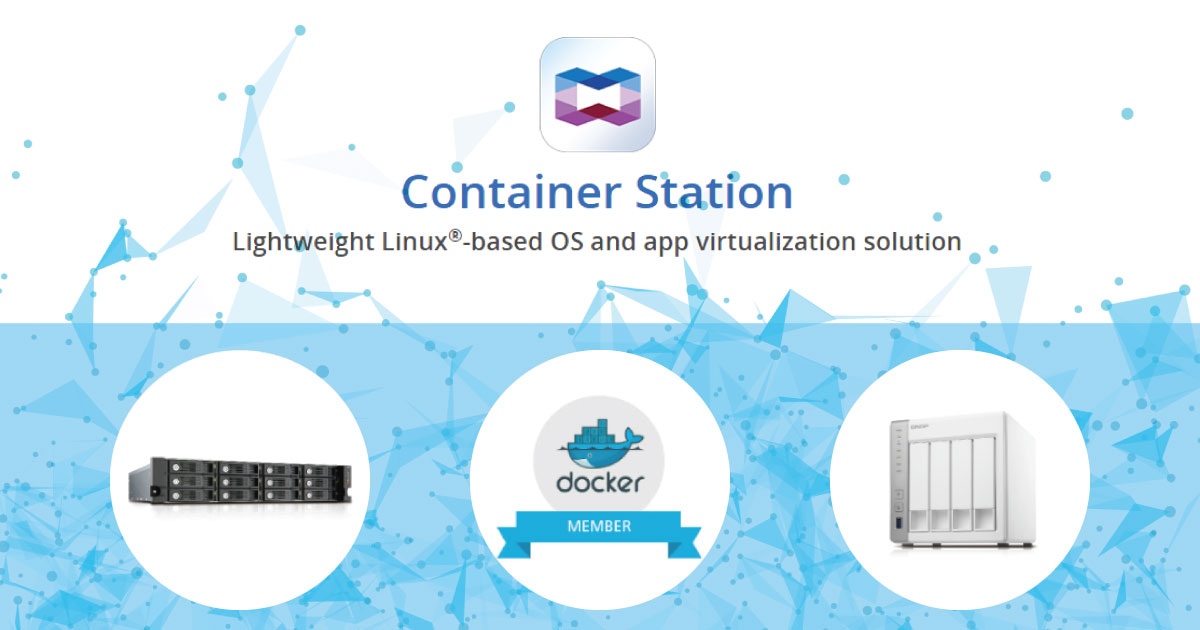 QNAP-Container Station-FB