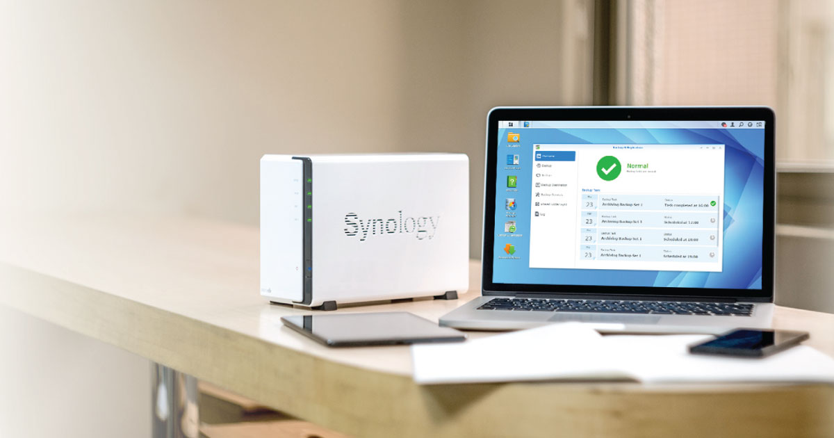Synology: Handy tips for protecting your files - ACE Peripherals