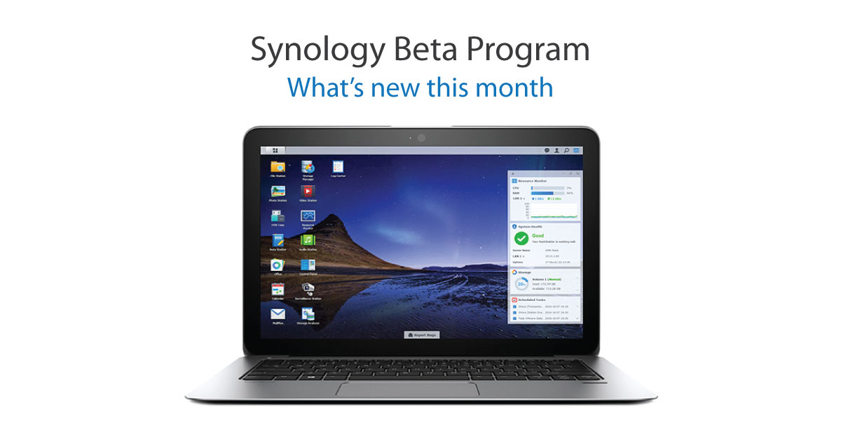 161107-Synology-Beta-Program--See-whats-new-this-month