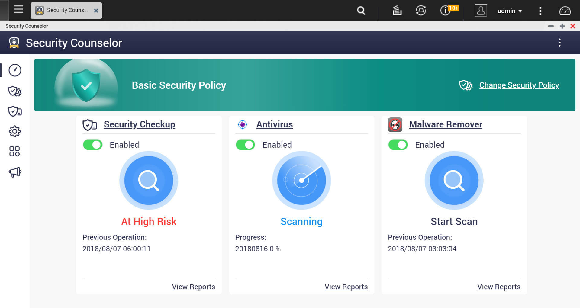 qnp security-counselor ui